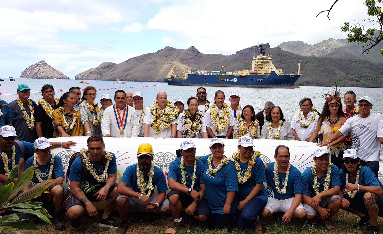 Numérique en Polynésie : Le câble sous-marin domestique Natitua installé, sa mise en service prévue à la fin de l'année
