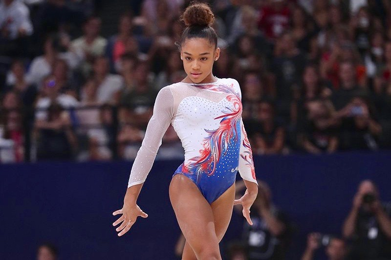 Gymnastique : La Martiniquaise Mélanie De Jesus Dos Santos en or aux Internationaux de France