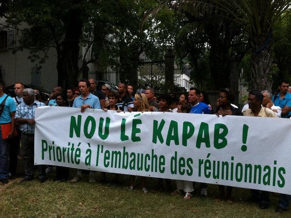 Nou Lé Kapab (AJFER), qui se bat depuis 2009 pour le retour des fonctionnaires ultramarins