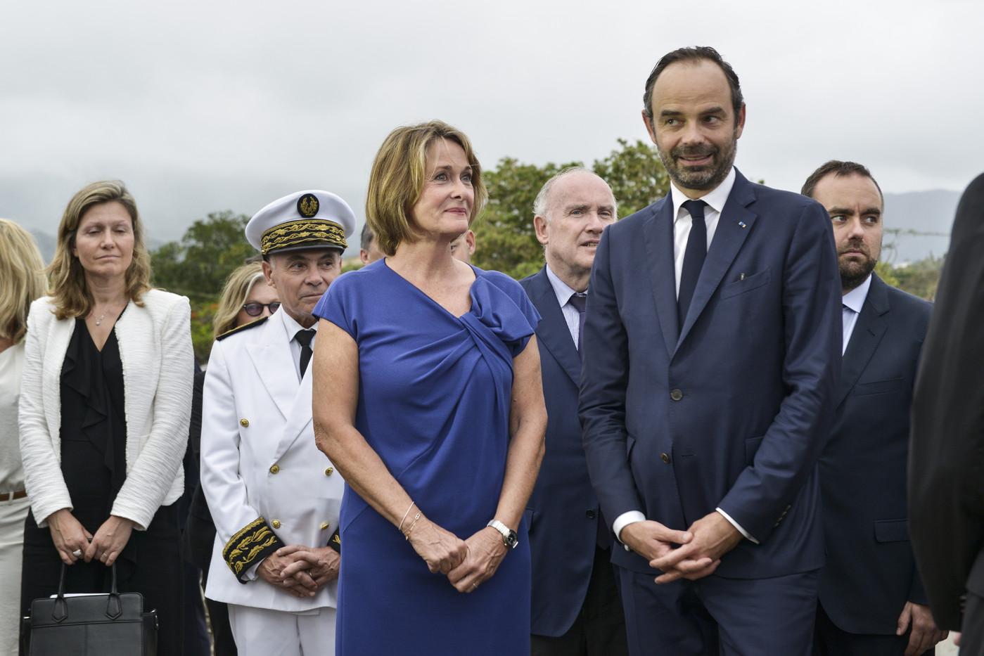 Isabelle Lafleur, fille du leader loyaliste Jacques Lafleur ©Nicolas Petit / AFP