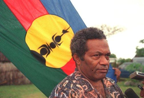 Jean-Marie Tjibaou, leader indépendantiste Kanak