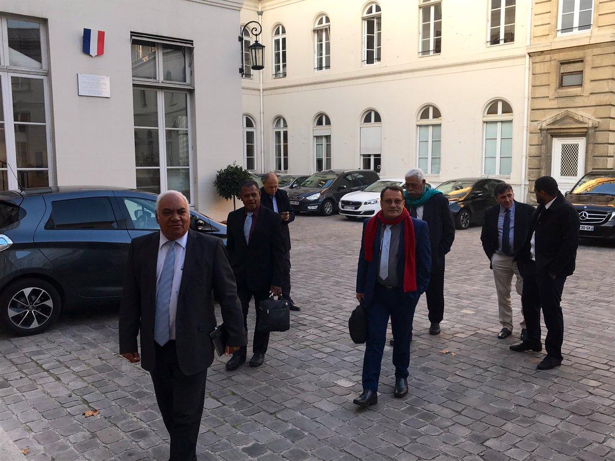 18ème Comité des Signataires : L'UNI-Palika et l'UC-FLNKS rencontrent à leur tour la ministre Annick Girardin