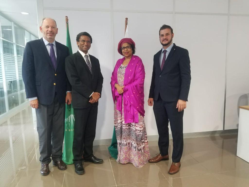 Echanges avec la représentante de l'Union Africaine © COI