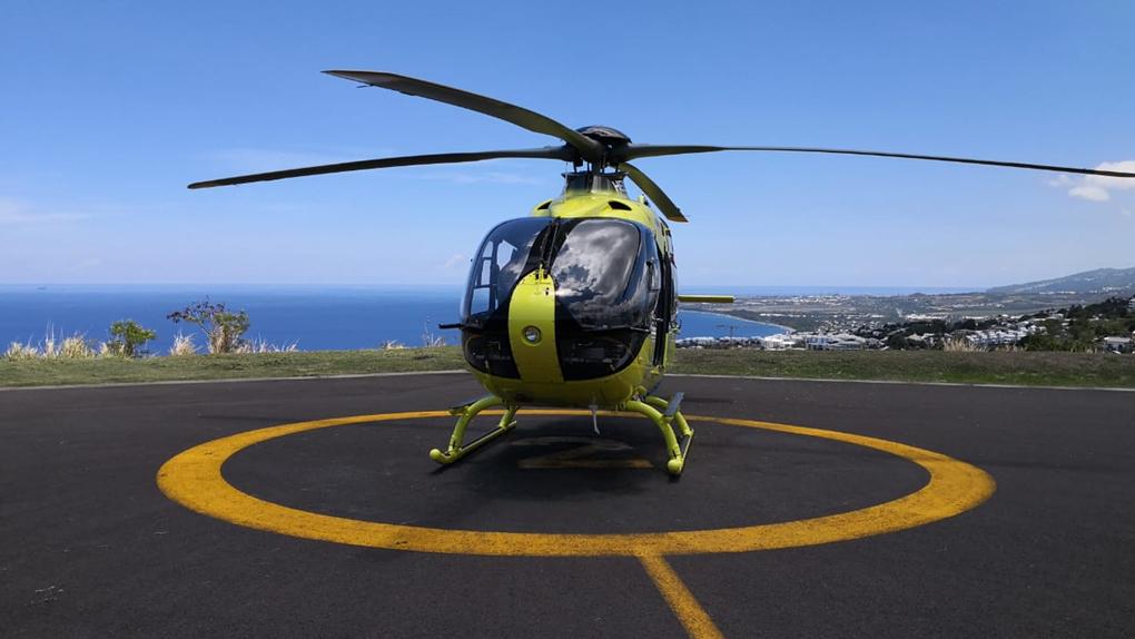 Le SAMU de La Réunion se dote de son premier hélicoptère médicalisé
