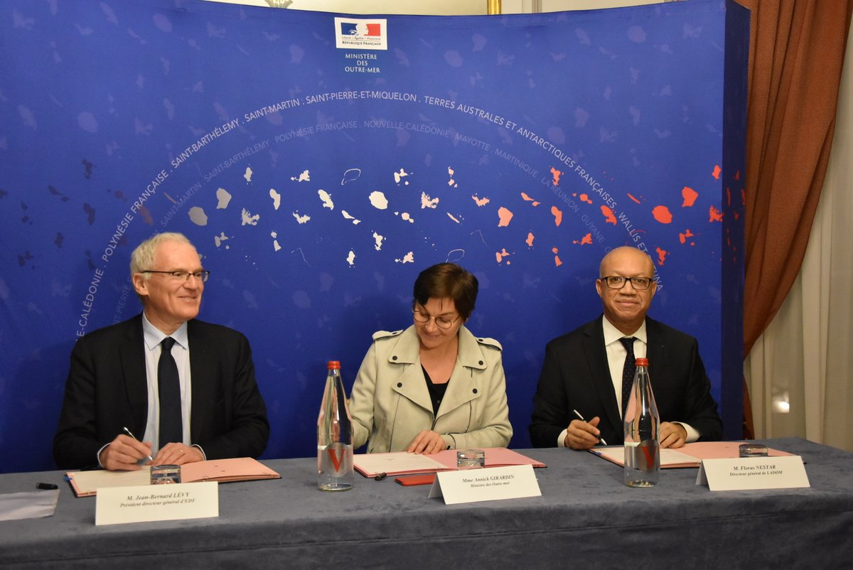 Emploi en Outre-mer:  Une convention LADOM et EDF pour favoriser l'insertion professionnel des jeunes ultramarins
