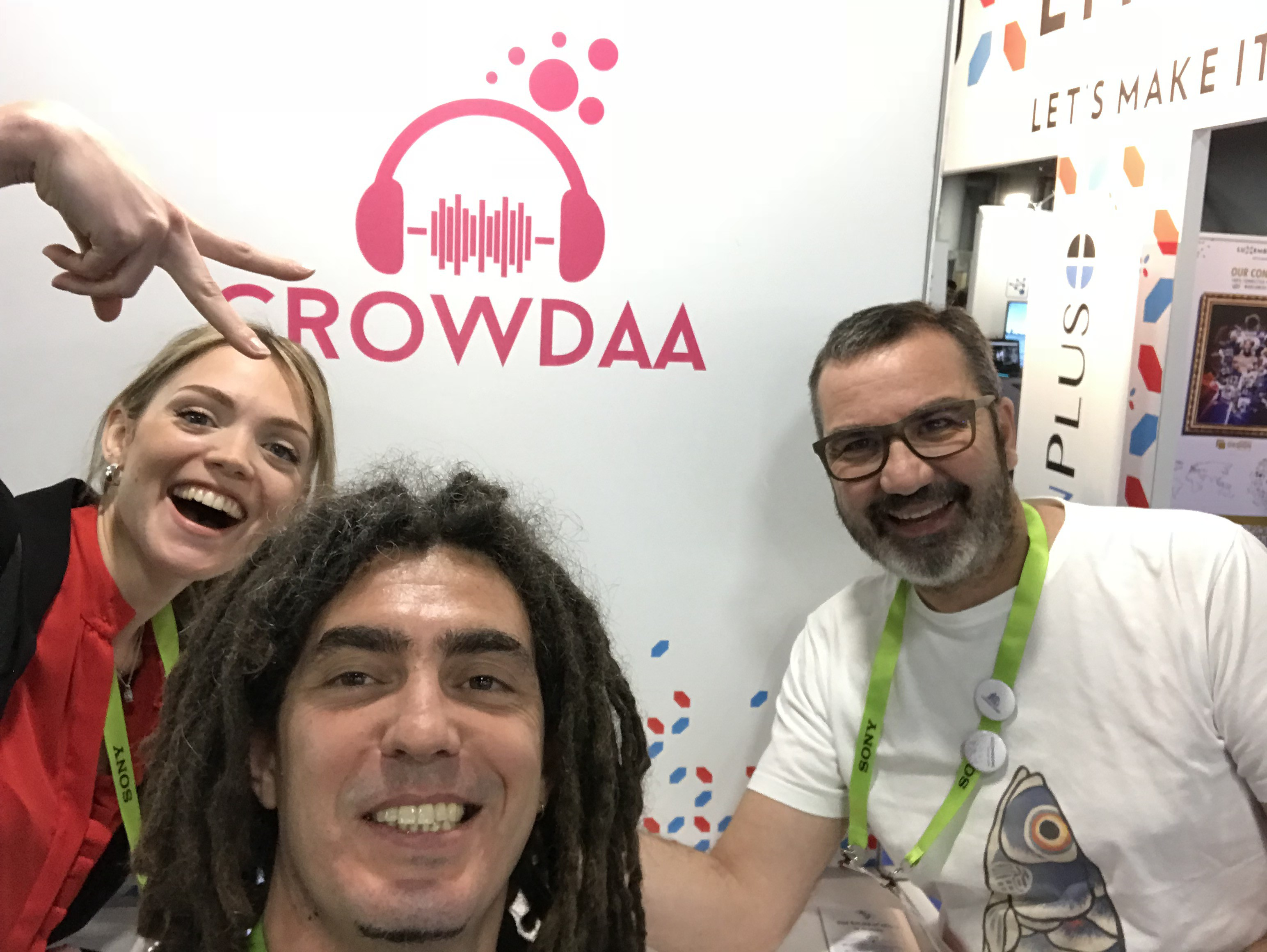 Crowdaa a fait partie des 420 entreprises représentantes de la French Tech au CES de Las Vegas ©DR