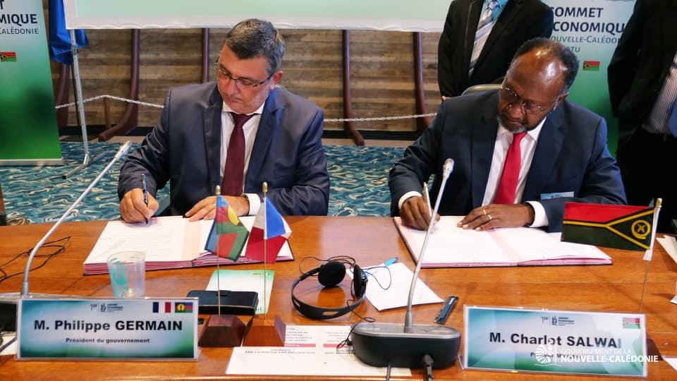 Signature d'un accord de libre-échange entre la Nouvelle-Calédonie et le Vanuatu