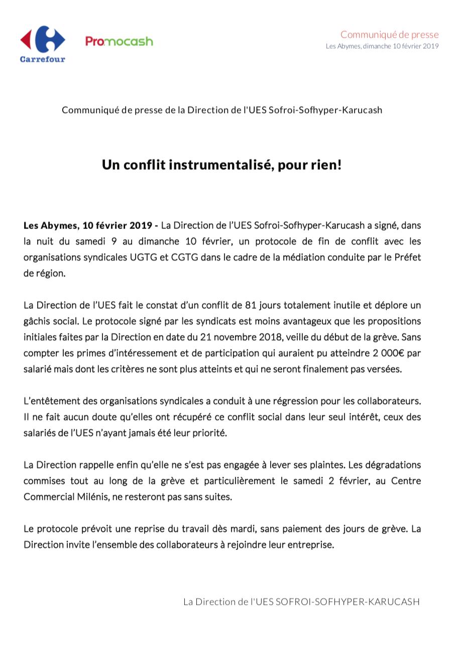 Guadeloupe: Après 77 jours de grève, reprise du travail le ...