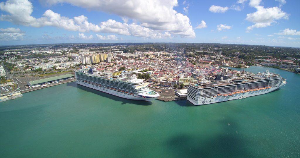 ©Grand port maritime Pôle Caraïbes en Guadeloupe