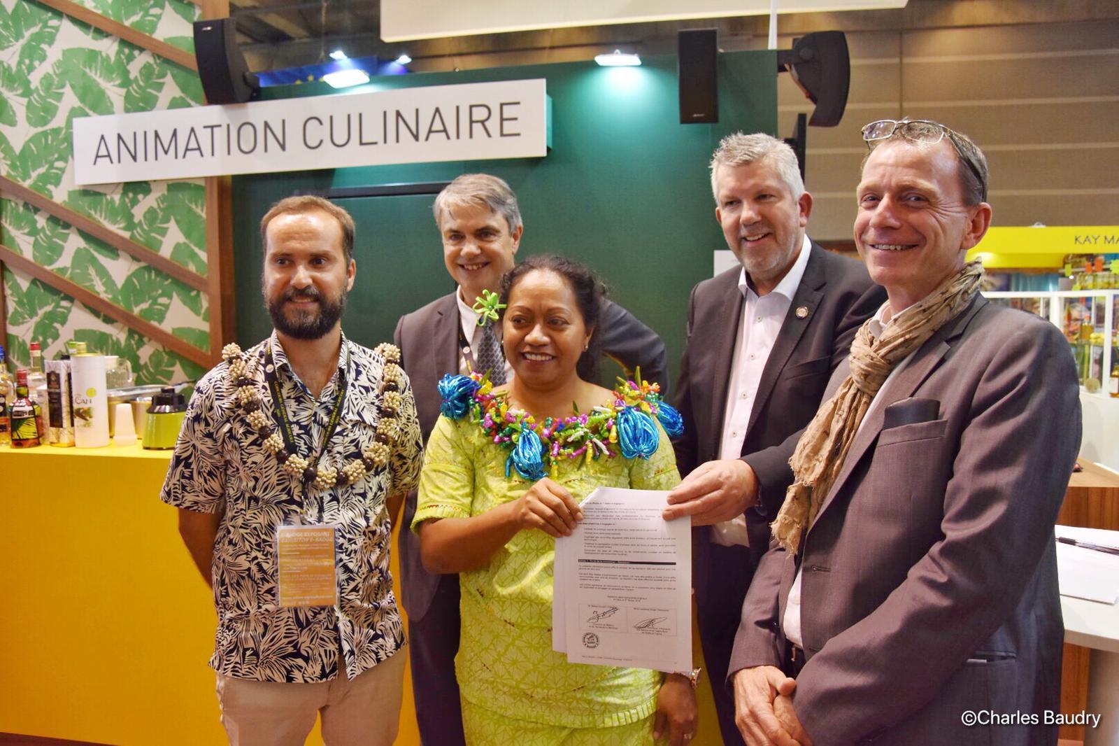 Salon de l'Agriculture 2019: Wallis-et-Futuna présente pour la première fois ses produits