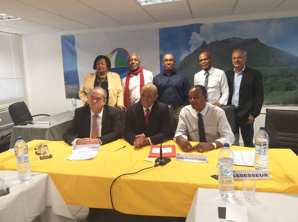 Guadeloupe: Joel Beaugendre, élu président de la Communauté d'agglomération Grand Sud Caraïbe