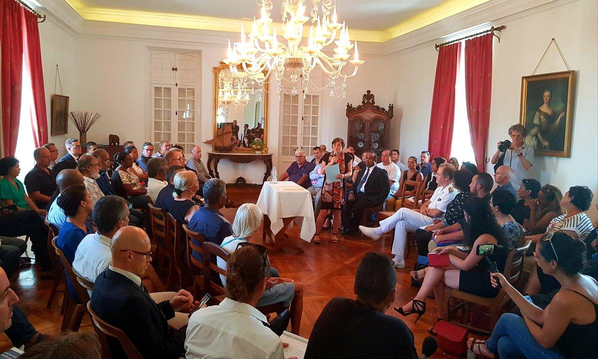Pouvoir d'achat à La Réunion : 50 citoyens installés au sein de l'Observatoire des Prix par la ministre Annick Girardin