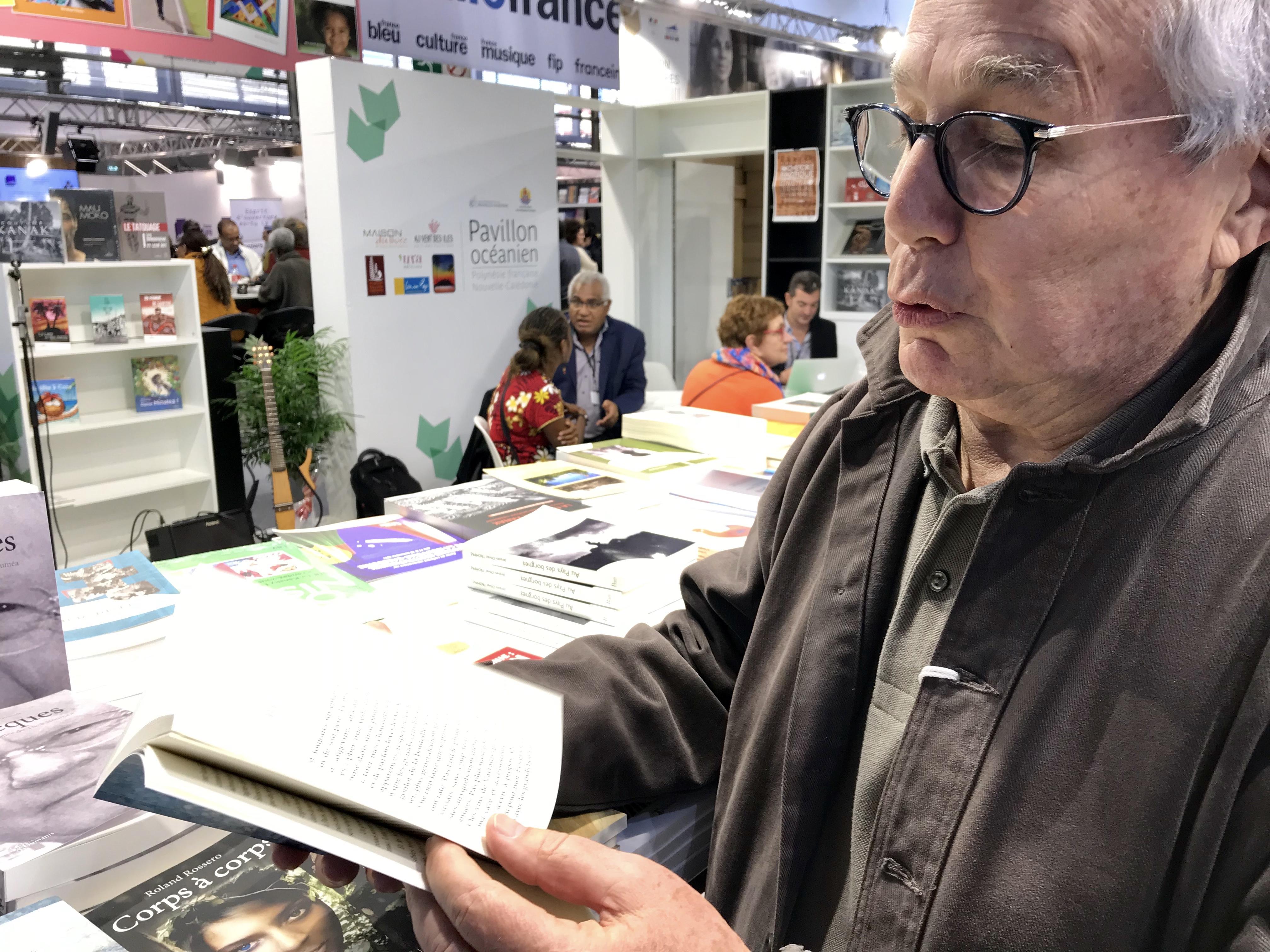 Benoît Saudeau nous a parlé de son roman à l'occasion du Livre Paris ©Outremers360
