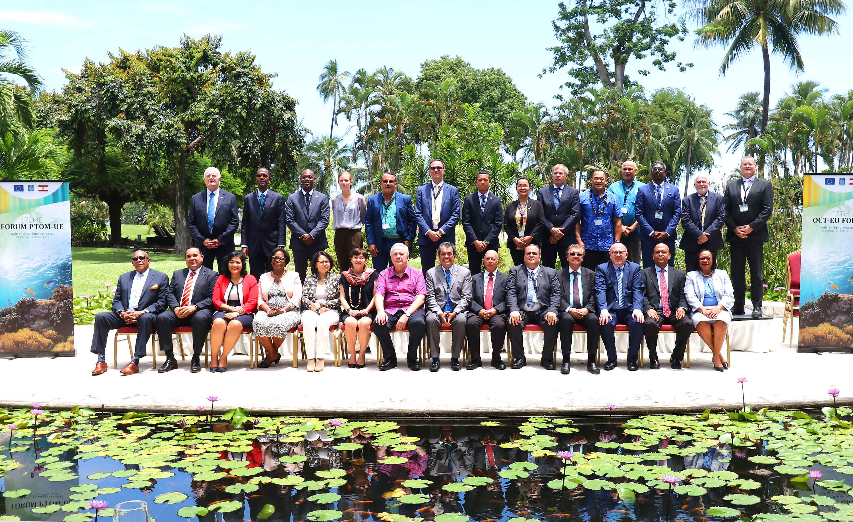Fin février, les PTOM se sont réunis en Polynésie française pour le 17ème Forum PTOM-UE