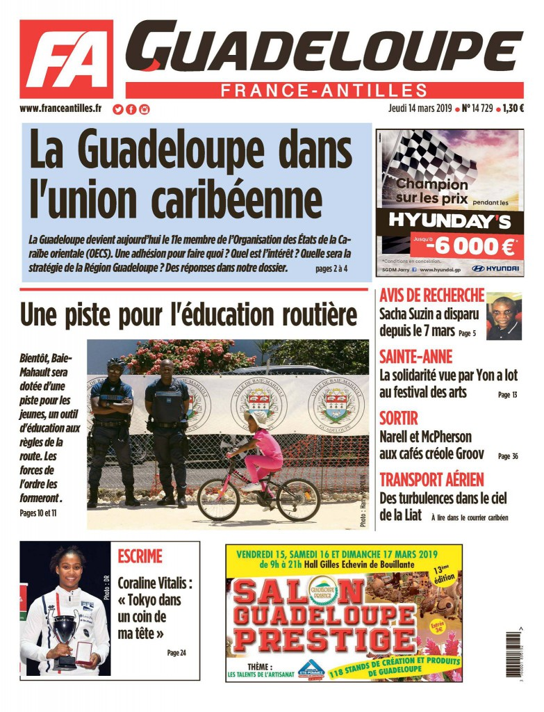 © Facebook France-Antilles Guadeloupe