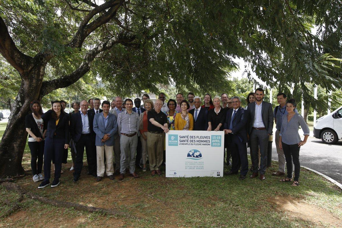 Environnement : Le Maroni, terrain d'étude d'experts internationaux sur le thème la santé du fleuve et des hommes