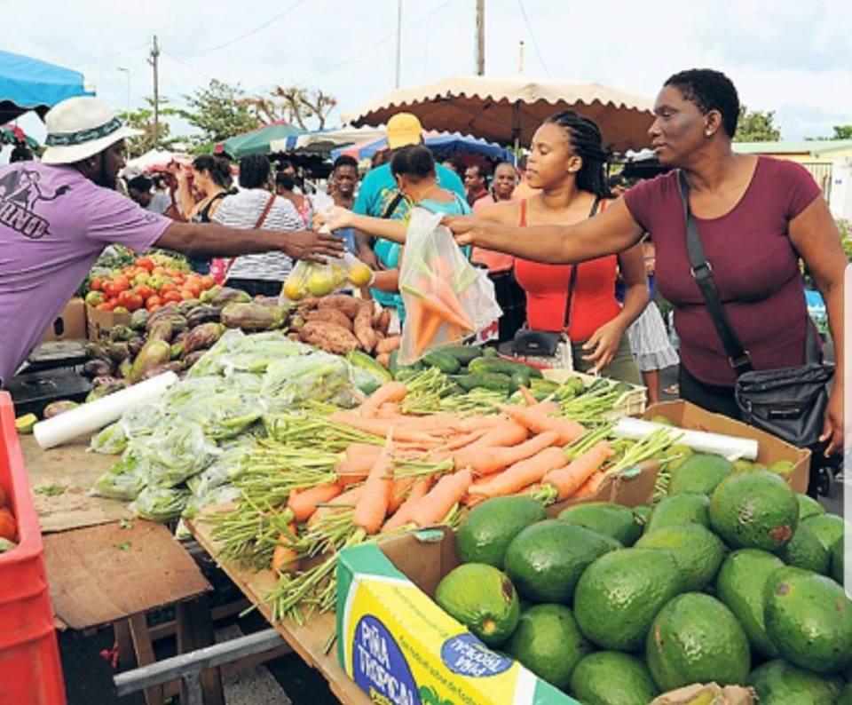 Le marché du Moule en Guadeloupe ©Ville du Moule