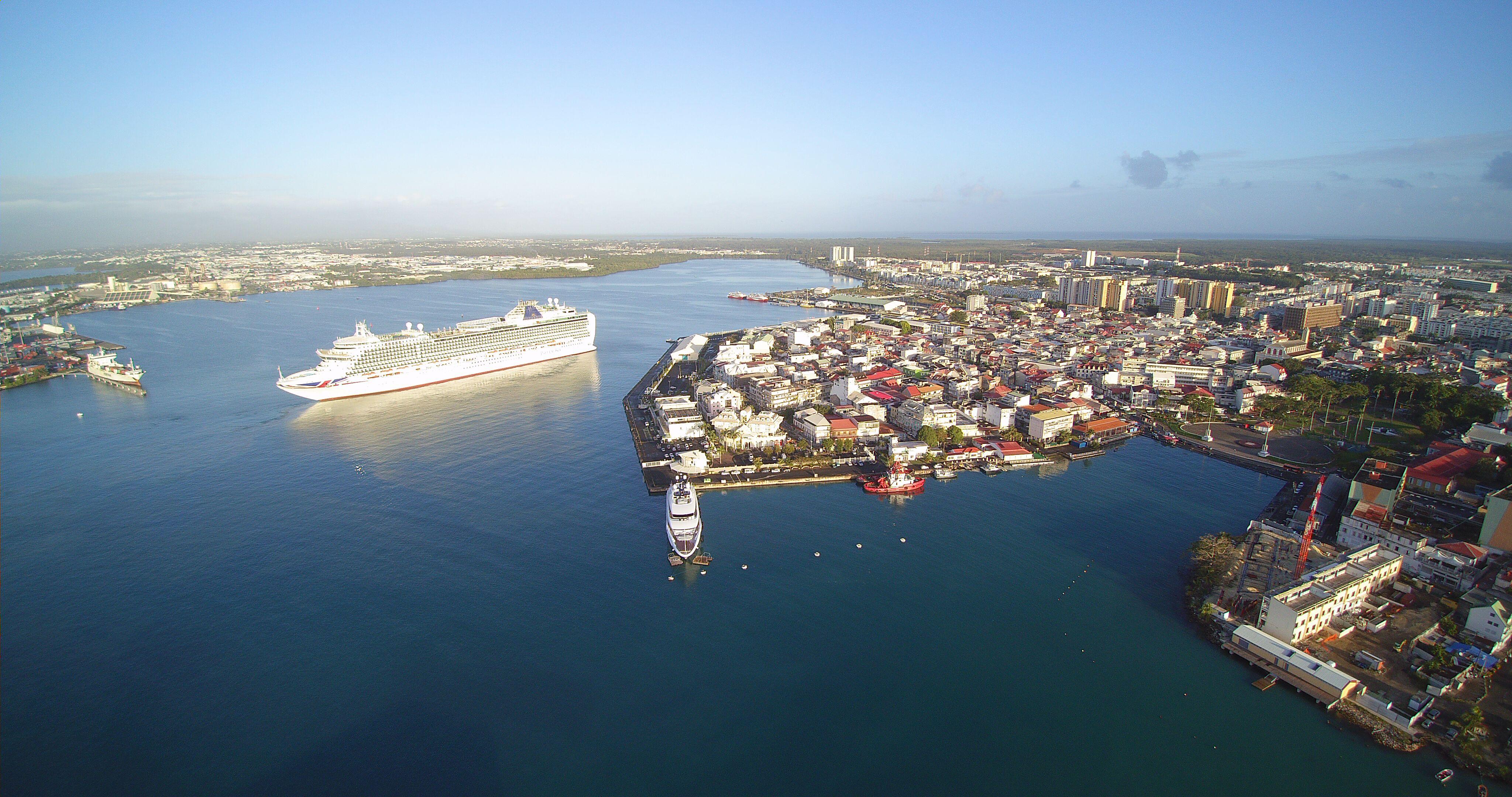 Vue du Port de Pointe-à-Pitre © GPM Guadeloupe