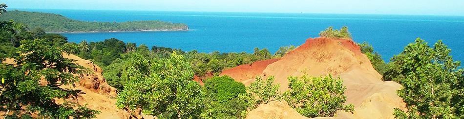 Découverte d'un volcan sous-marin  à l'Est de Mayotte