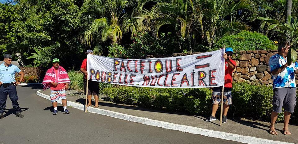 Manifestation de l'Association 193 à Tahiti ©Association 193