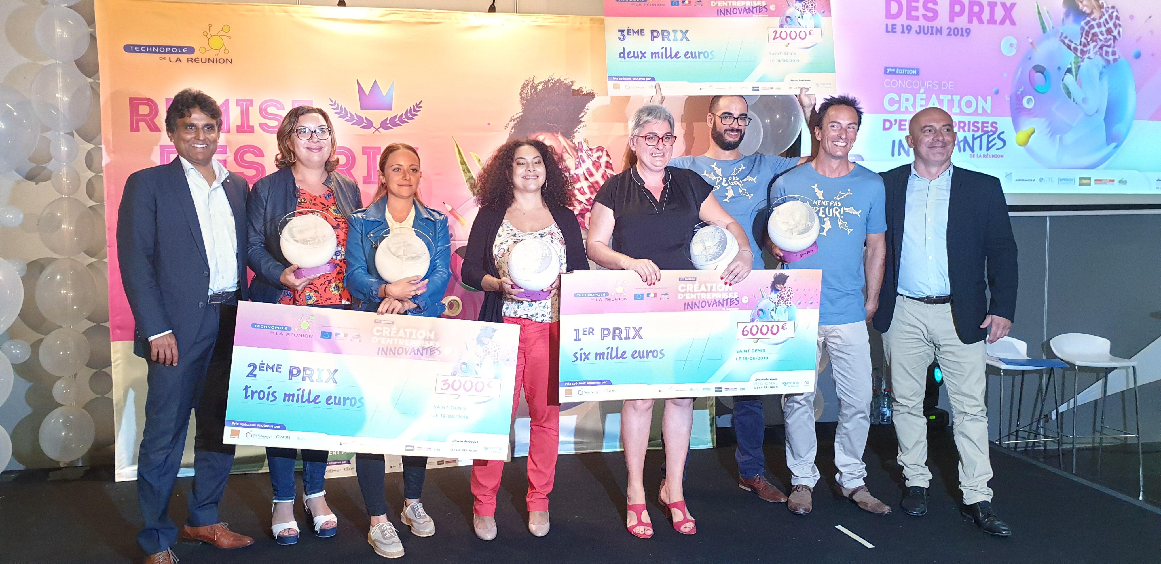 Economie et Innovation à La Réunion: 8 prix décernés pour le 7ème Concours de Création d'Entreprises Innovantes de La Réunion