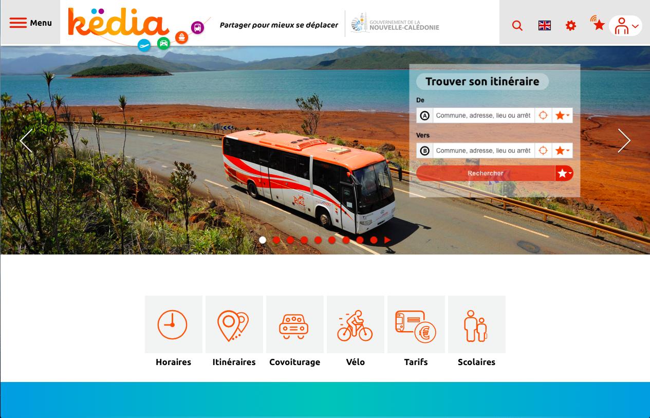 Mobilité & Innovation : En Nouvelle-Calédonie, l'appli Këdia pour faciliter les trajets des usagers