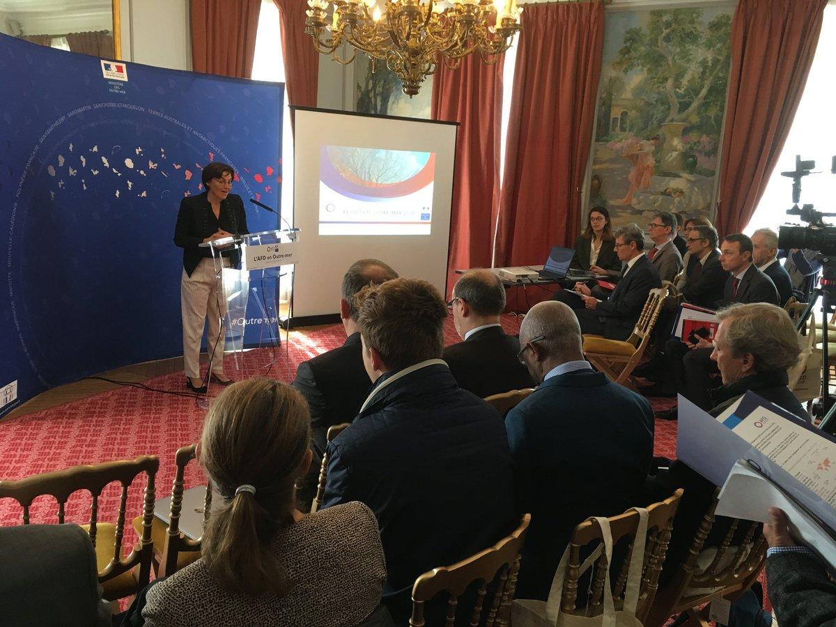 En 2018, l'AFD a engagé 1,4 milliard d'euros en Outre-mer