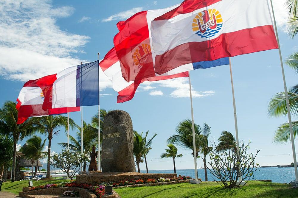 La Place de l'autonomie à Papeete ©Tahiti Heritage