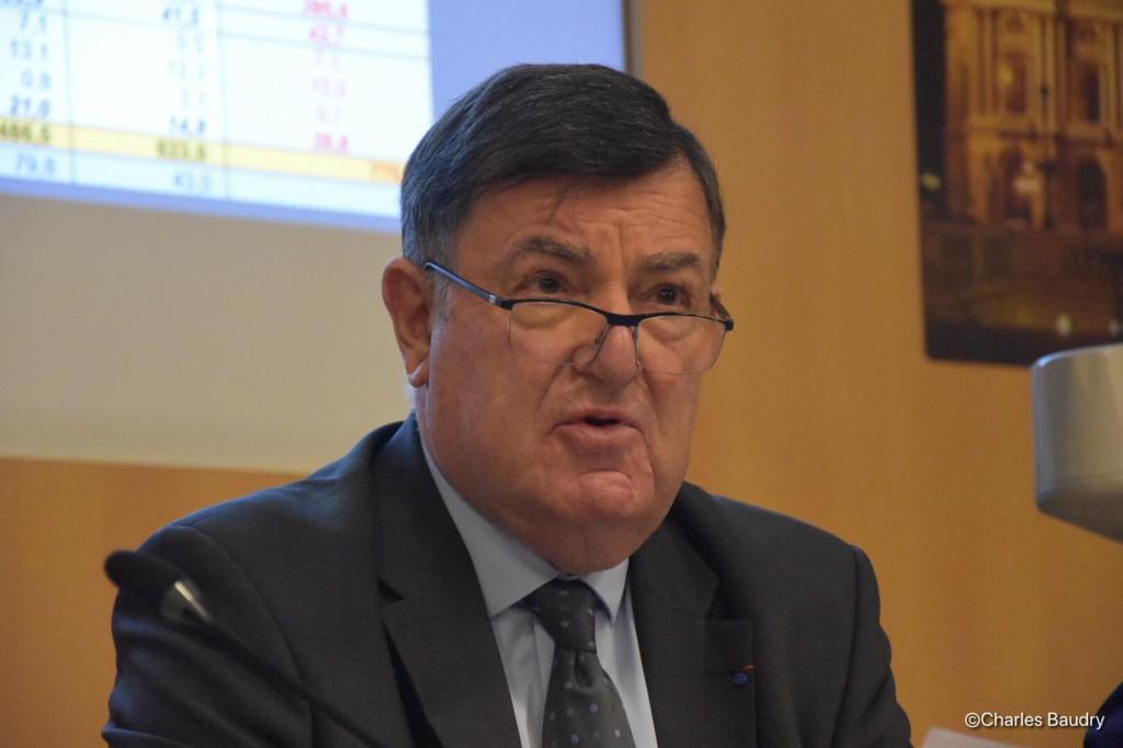 Jean-Pierre Philibert, président de la FEDOM ©Charles Baudry / FEDOM