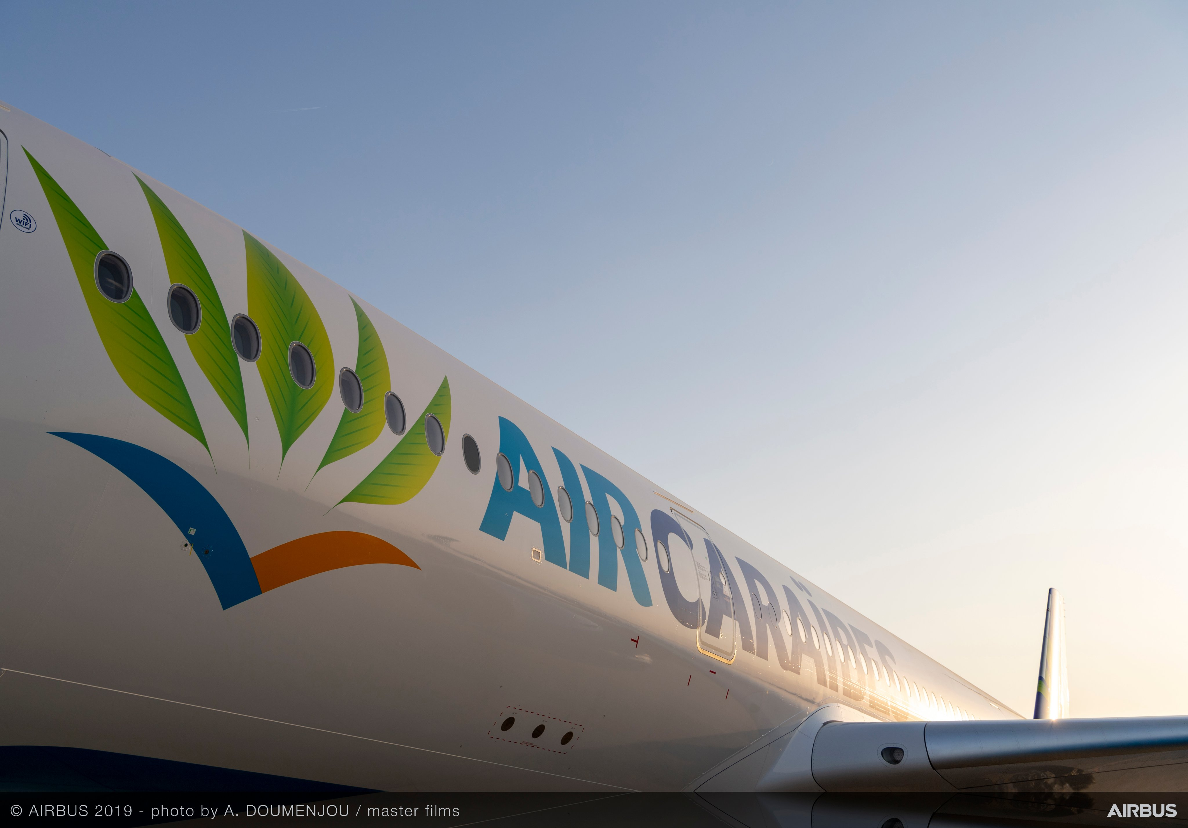 Desserte aérienne :  Air Caraïbes s'approprie son troisième Airbus A350