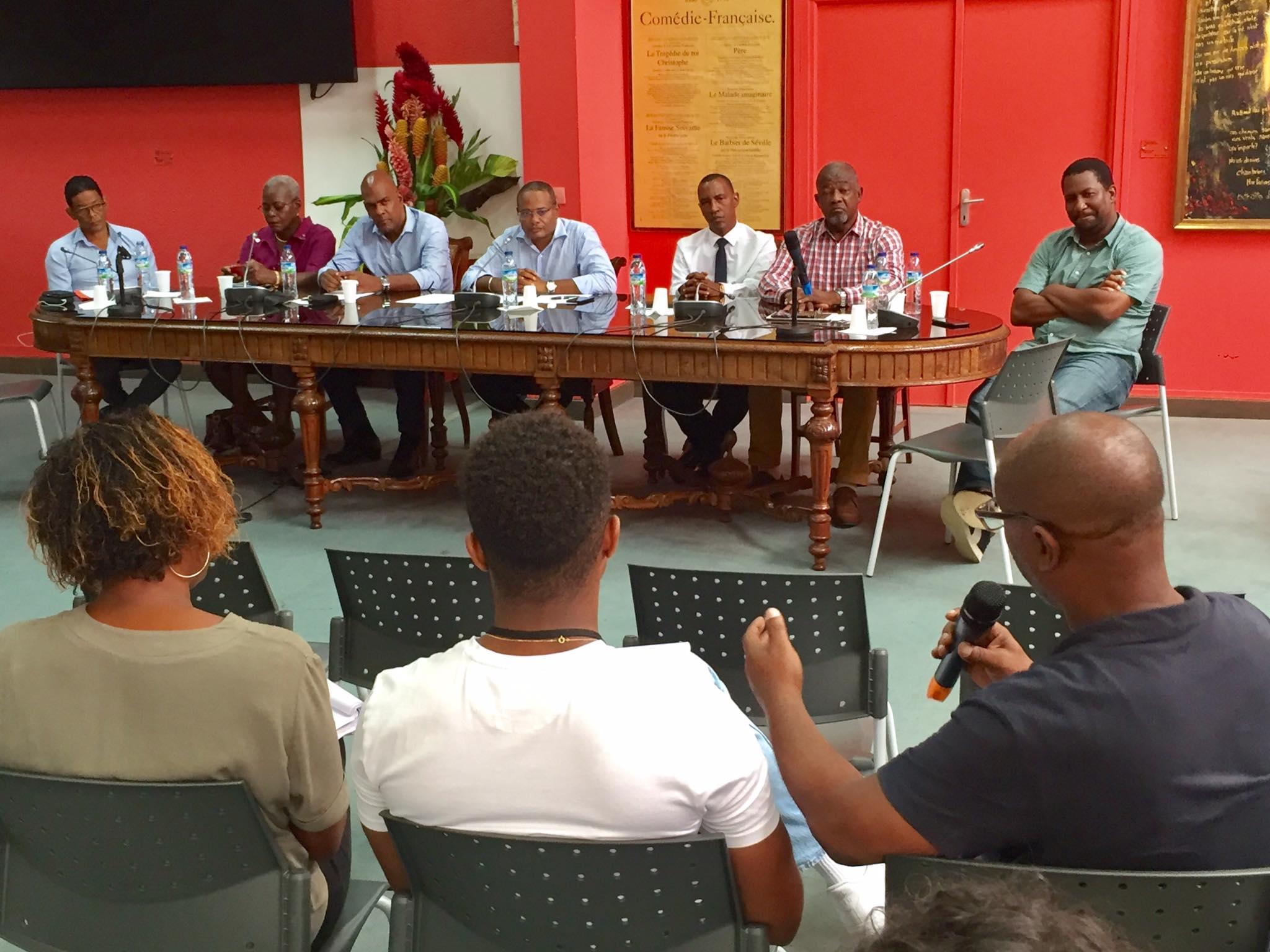 Des élus de Martinique «des mesures ambitieuses» contre la prolifération des armes