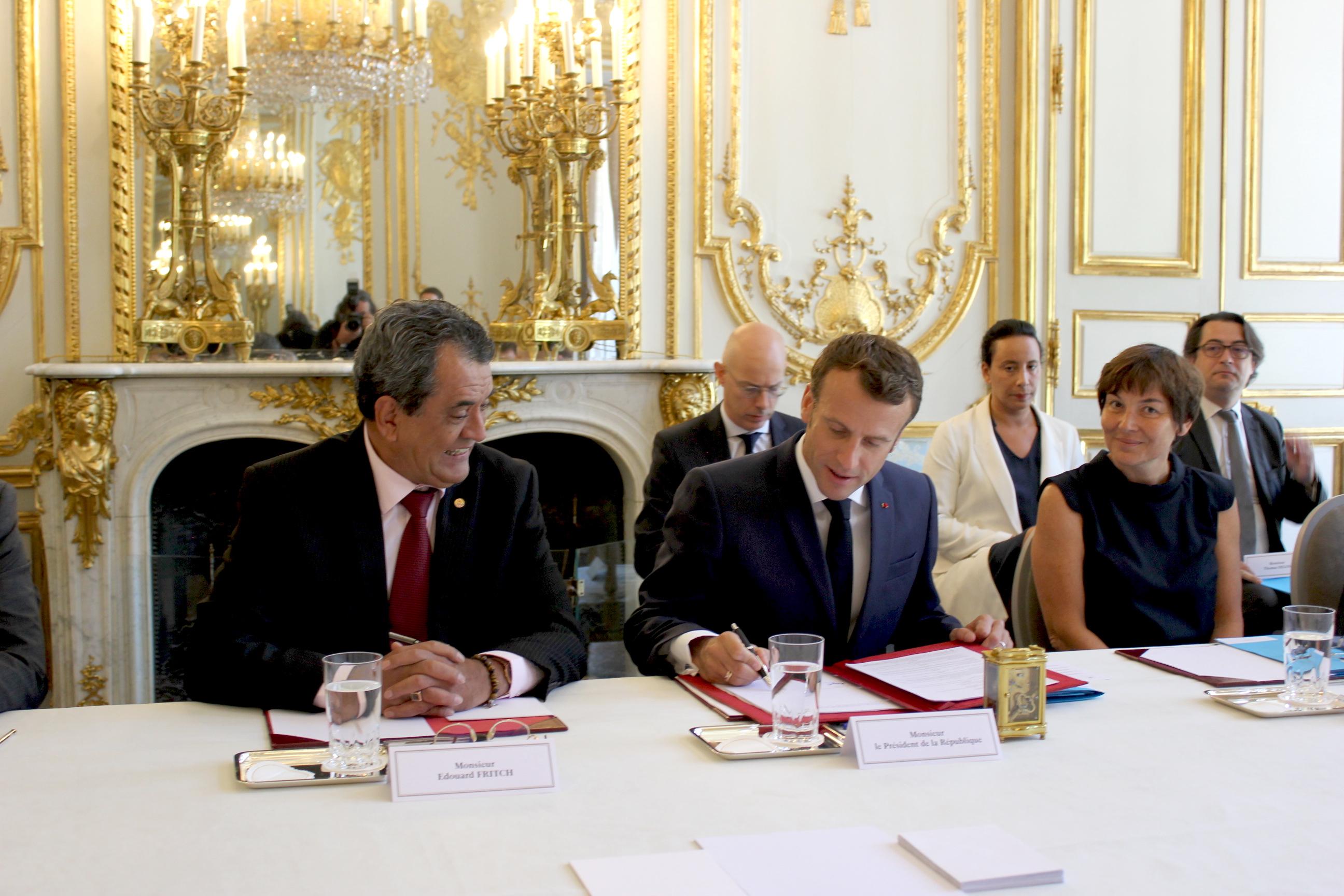 Pacifique : Emmanuel Macron en Polynésie en avril 2020 pour un One Planet Summit