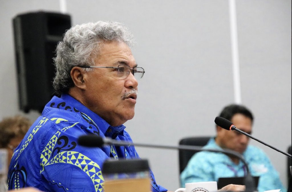 Elene Sopoaga, Premier ministre de Tuvalu ©Pacific Islands Forum / Twitter
