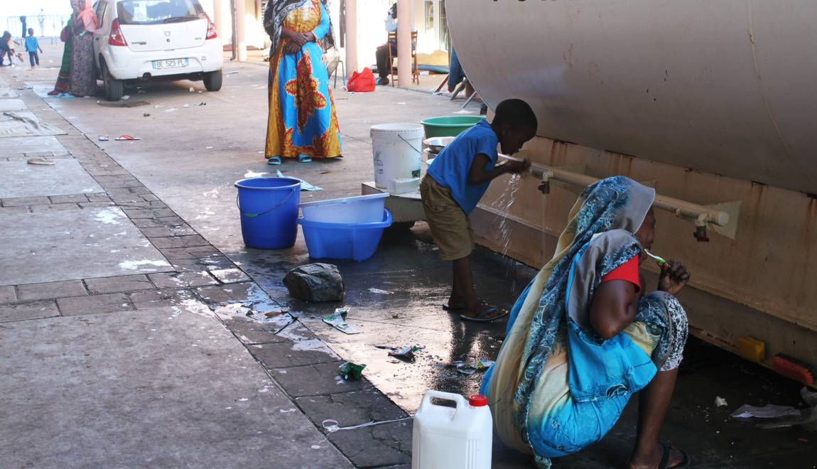 Mayotte : Près d'un tiers des habitants vivent sans eau courante
