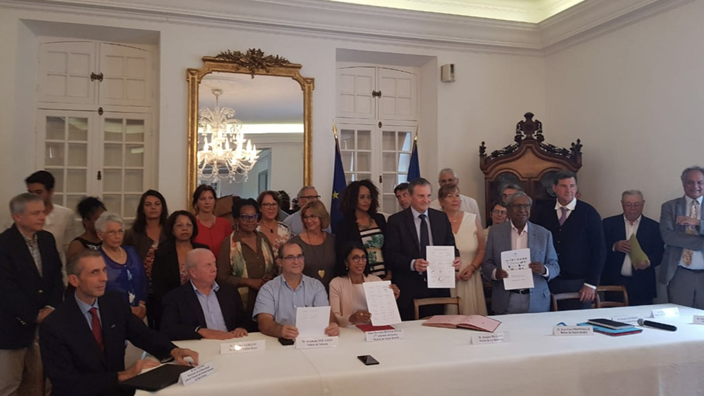 Société : Le 1er contrat local contre les violences conjugales signé à La Réunion