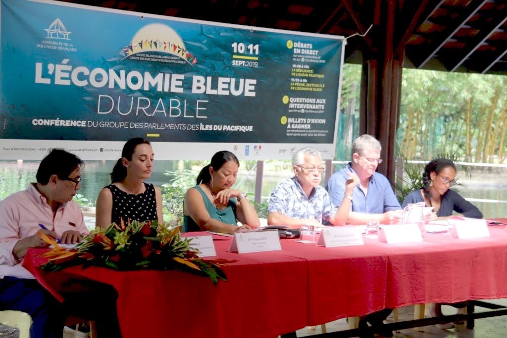 En Polynésie, les présidents d'Assemblées des îles du Pacifique réunis autour de l'Économie bleue durable