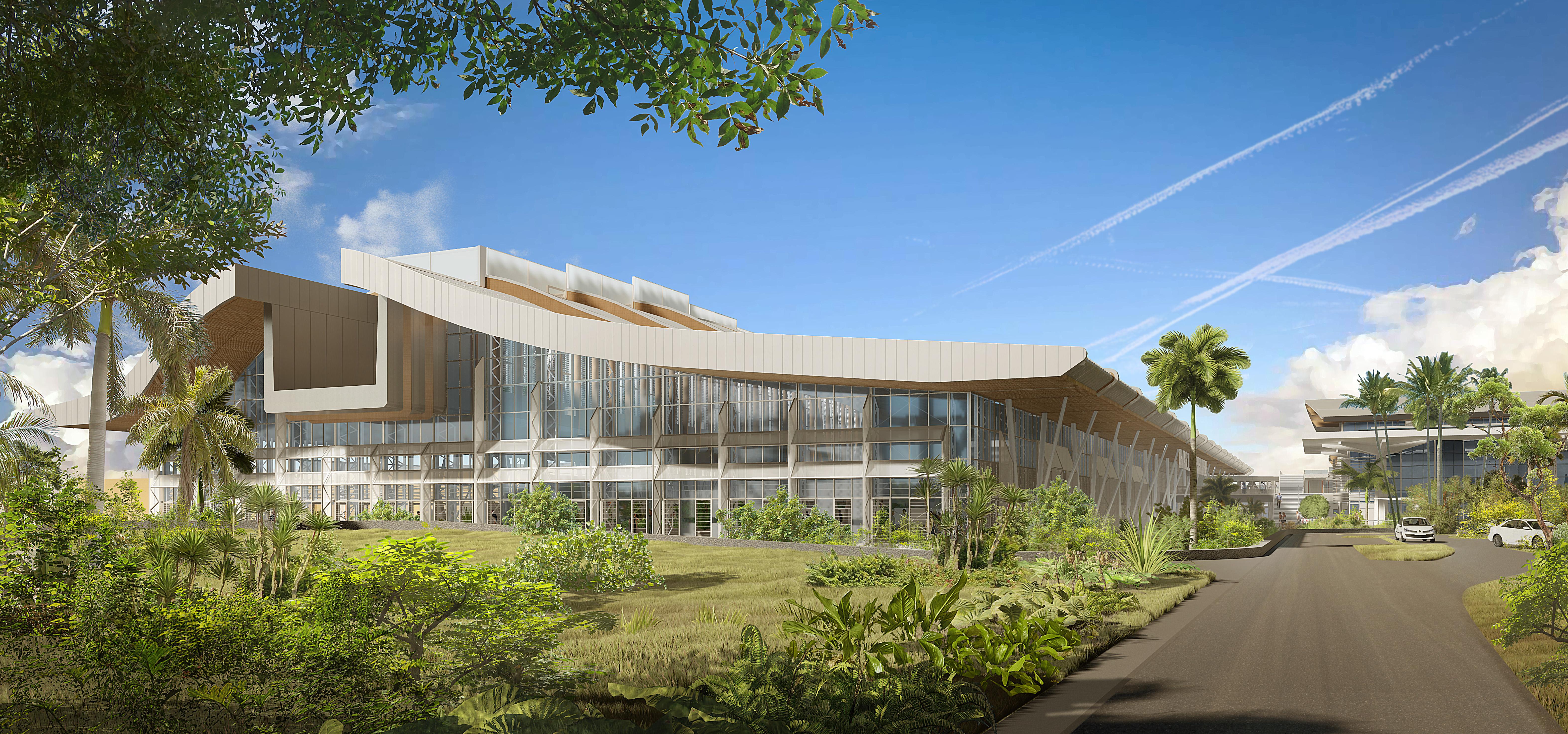 Economie à La Réunion: L'Aéroport Roland Garros lance son projet d'extension de sa nouvelle aérogare