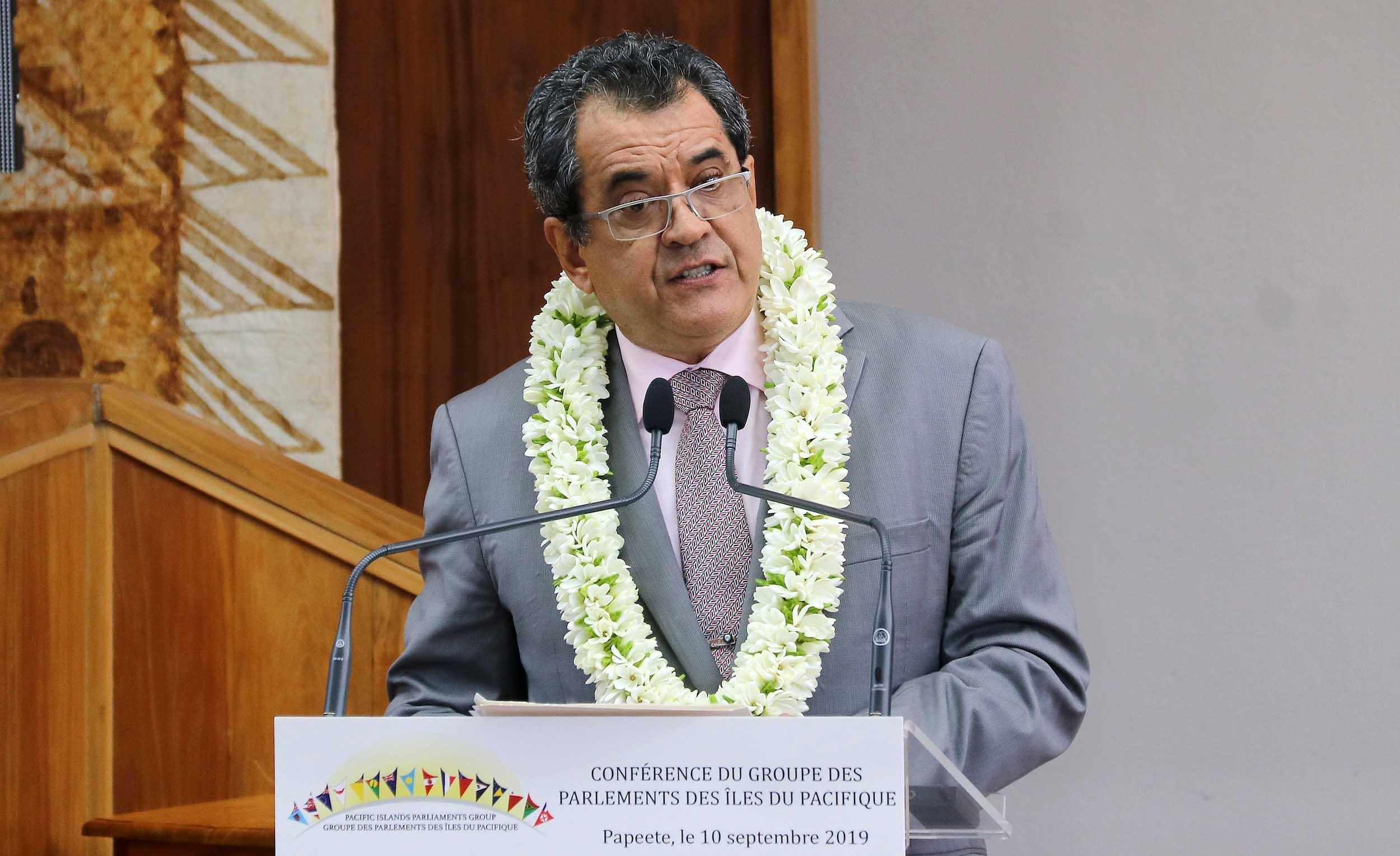 ©Présidence de la Polynésie française