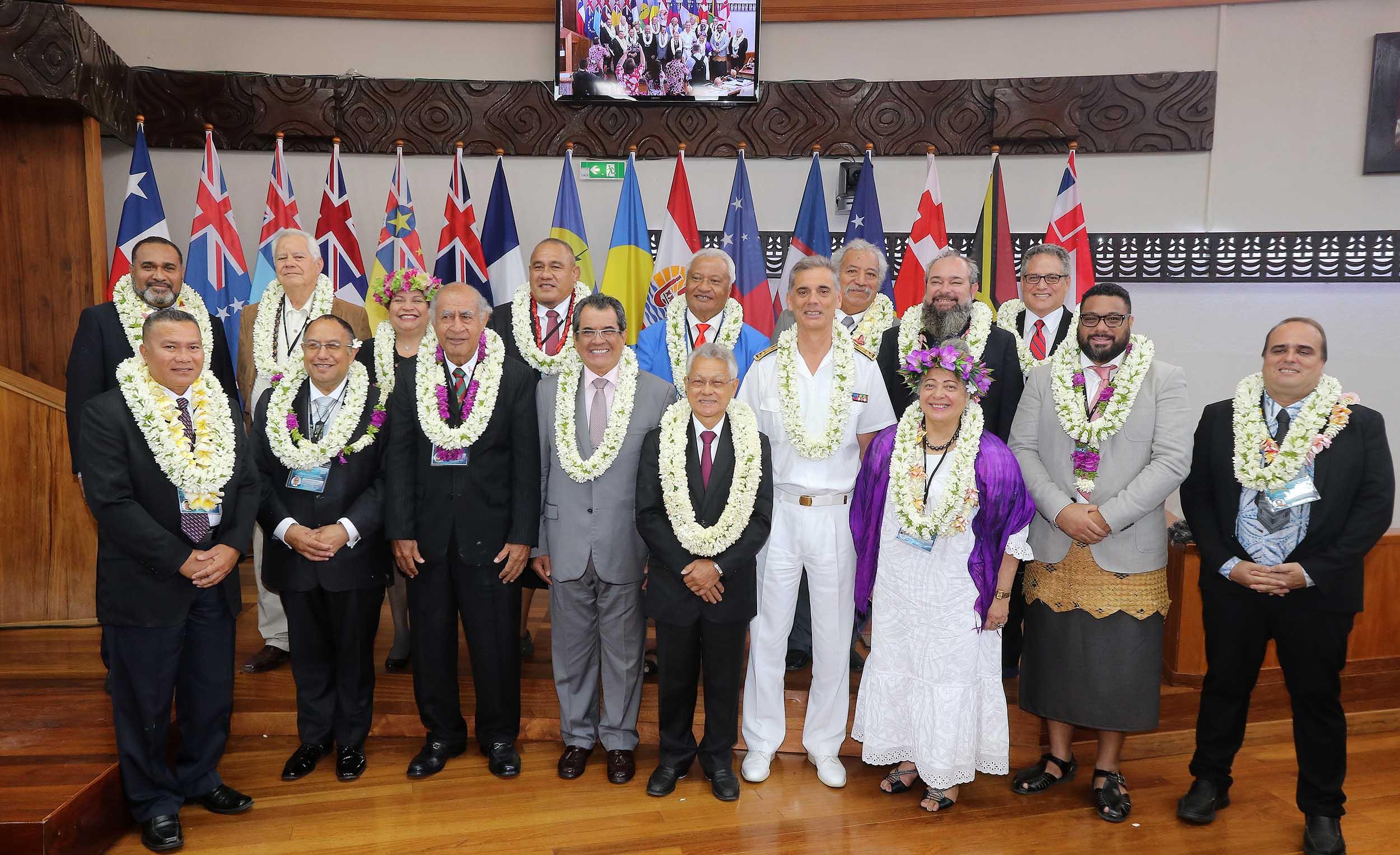 En Polynésie, la conférence du Groupe des Parlements des îles du Pacifique se penche du l'économie bleue durable