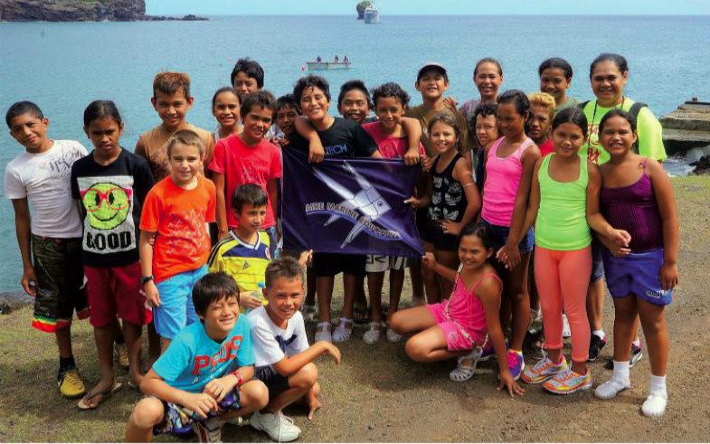 C'est en Polynésie, aux îles Marquises, qu'est née la première AME au monde
