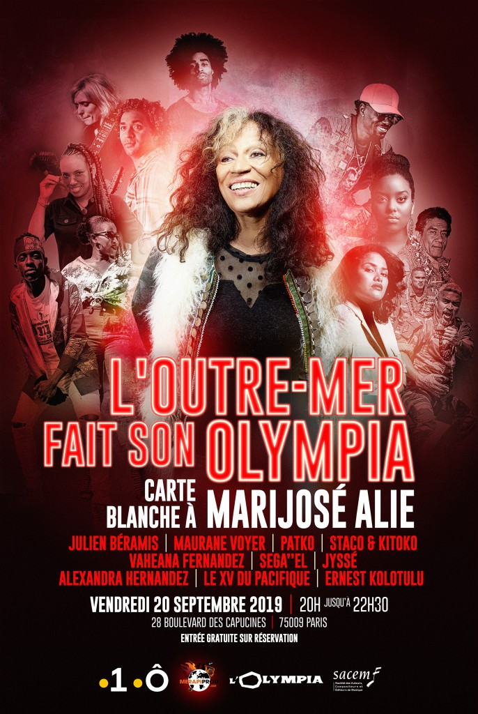 L'outremer fait son olympia -affiche 2019