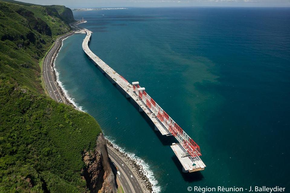 La NRL est un des chantiers les plus importants en France ©Région Réunion
