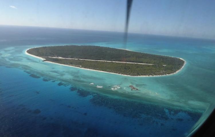 L'île Glorieuse, dans l'archipel des Éparses