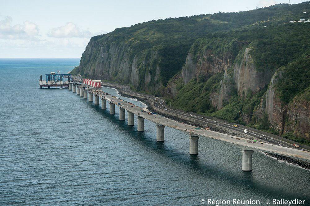 La Réunion : accord trouvé pour la reprise des travaux de la Nouvelle Route du Littoral