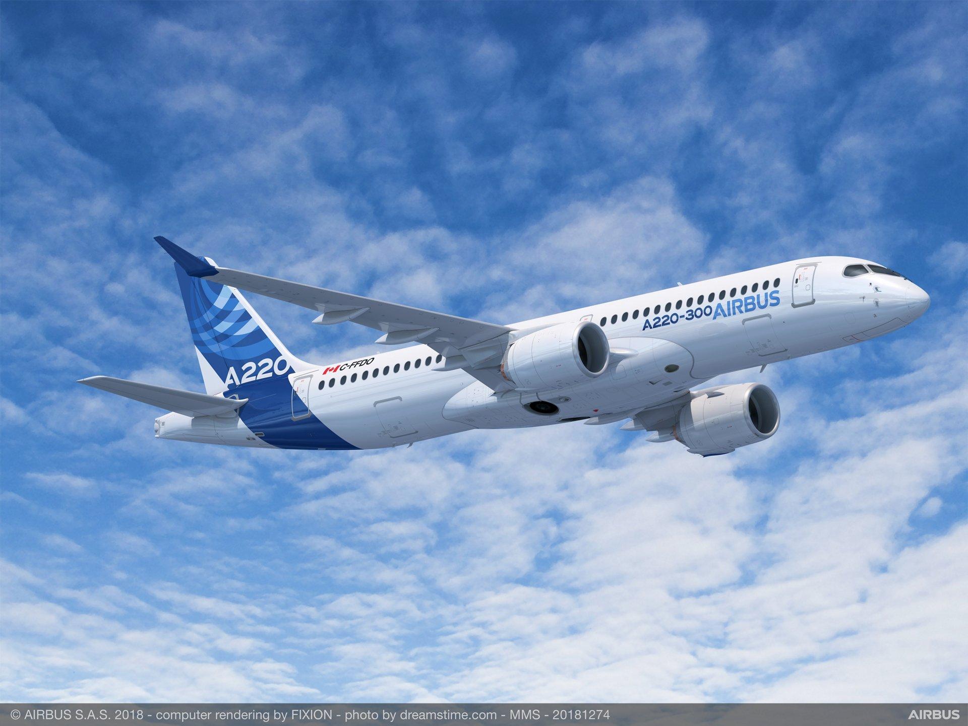 Desserte aérienne : En Nouvelle-Calédonie, Airbus fait la promotion de son A220