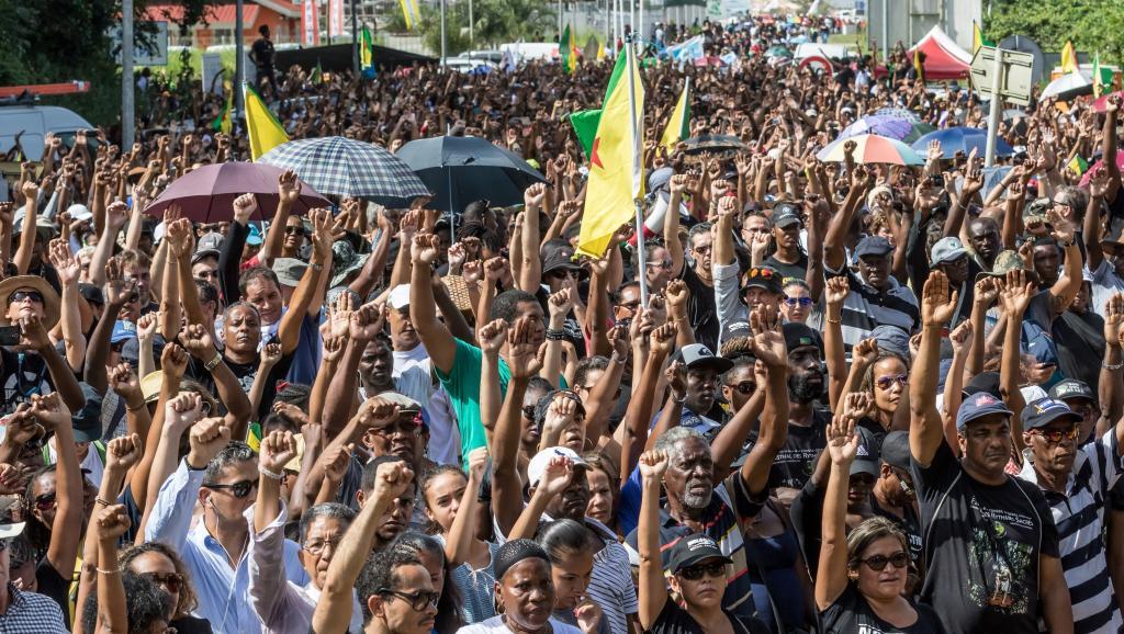 En Guyane, le mouvement social paralyse le département en pleine campagne présidentielle ©Jody Amiet