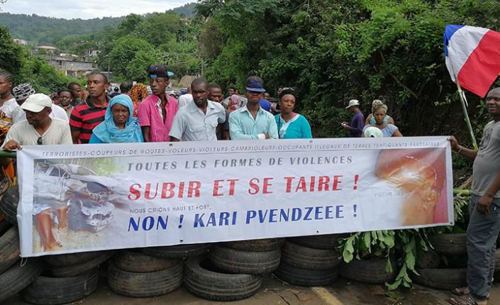 Mouvement social à Mayotte en mars 2018, qui débouche sur un plan d'urgence pour le département ©Mayotte Hebdo