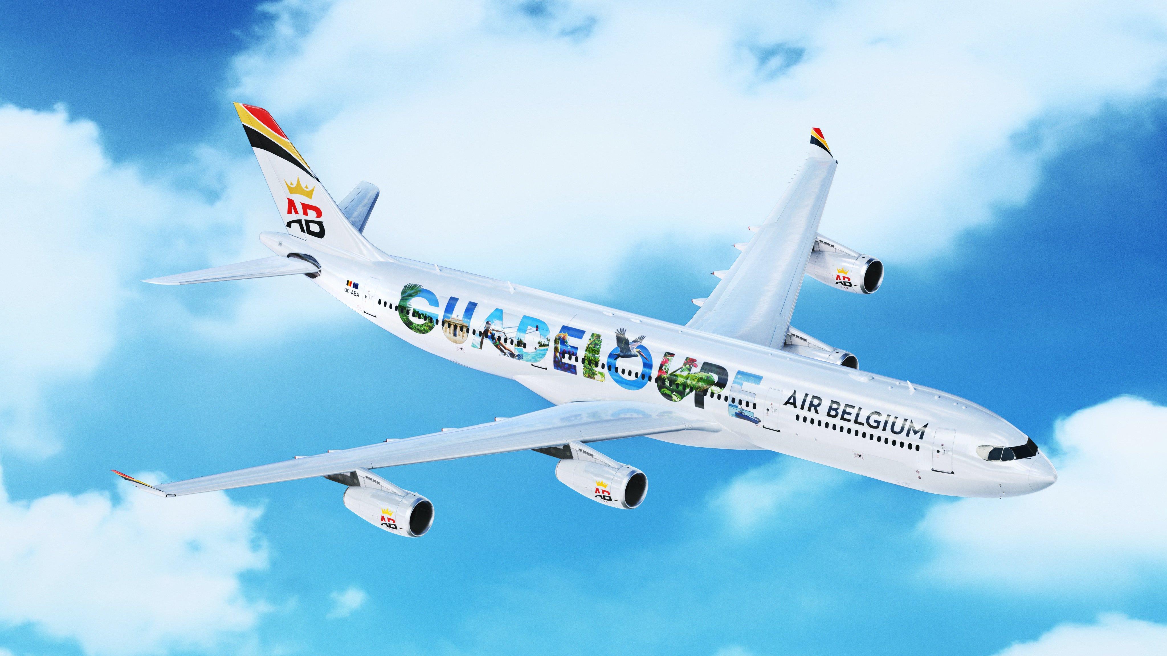 Desserte aérienne : Air Belgium met à l'honneur  la Guadeloupe et la Martinique pour son vol inaugural