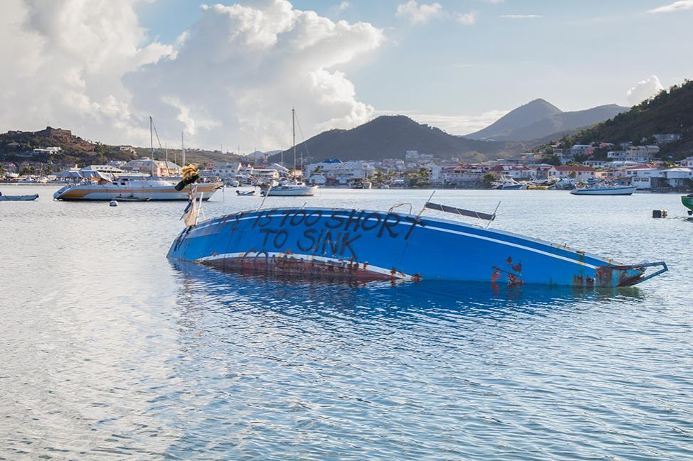 Reconstruction Post-Irma : La Banque Mondiale accorde un don à Sint-Maarten pour la gestion des déchets de l'ouragan