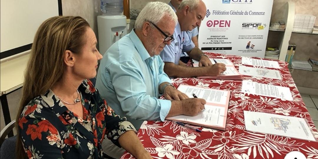Le Medef Polynésie et la Gendarmerie signent une convention pour la sécurité des entreprises et la reconversion des agents